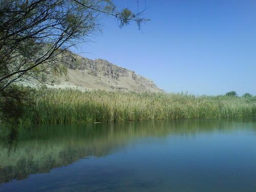 beautiful and mysterious lake